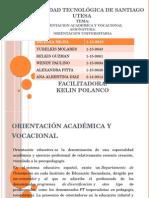 Orientación Académica y Vocacional