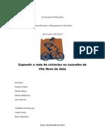 Futuras ciclovias no concelho de Vila Nova de Gaia