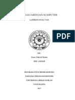 Tugas Jaringan Komputer (Latihan Soal UAS)