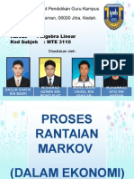 Proses Rantaian Markov