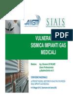 Vulnerabilità Sismica Impianti Gas Medicinali