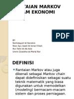Rantaian Markov Dalam Ekonomi