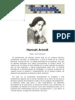 Philosophica Enciclopedia Hannah Arendt