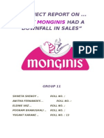 Project on Monginis
