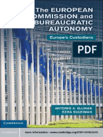 European Comission and Its Burocratic Autonomy