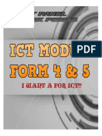 Ict Module Cover Important Keywords to Remember
