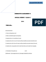 Class 10 Social Science SA2 2