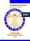 Introduction to Idiomaterial Life Physics