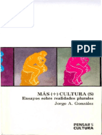 Mas(+) Cultura(s) - González 1994