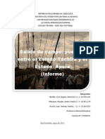 informe 1° salida campo PUENTES