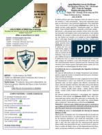 Boletim - 08 de Março de 2015