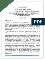 Sps. Sta. Maria vs. CA, 1998 - Width of Easement