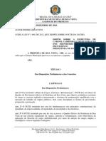 Pmbv - Lei Nº 712, De 09 de Dezembro de 2003