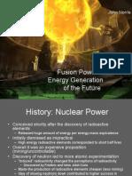 Talk 1 Fusion Power