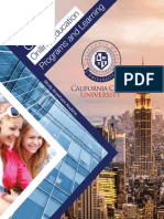 California Creek University Brochure