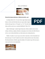 infancy and toddlerhood docx week 2 assign, ch  cap