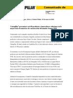 Bauma 2010 Preview Press Release - ESC