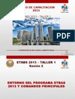 Etabs 2013-Taller1 -Sesion 2