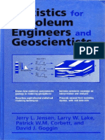 Jensen et al. Statistics for Petroleum Engineers and Geoscientists (1997)