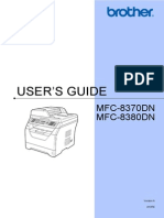 Brother Mfc8370n User Manual