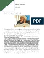 Boko Haram is Clear Example of Ignorance - Dr. Abu Ameenah Bilal Philips