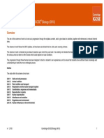 CIE IGCSE Biology 2019 Specifcation/Syllabus (0610