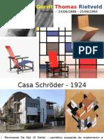 Arquitetos - Rietveld e Ingels