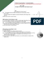 1. Geometrical Optics
