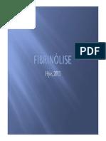 Fibrinólise