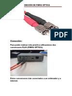 Conexión de Fibra Optica