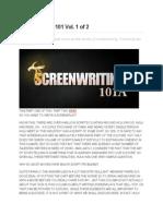 Screenwriting 101 Vol