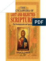 The Encyclopedia of Lost and Rejected Scriptures, The Pseudepigrapha and Apocrypha by Joseph Lumpkin