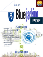 Bluejacking ppt