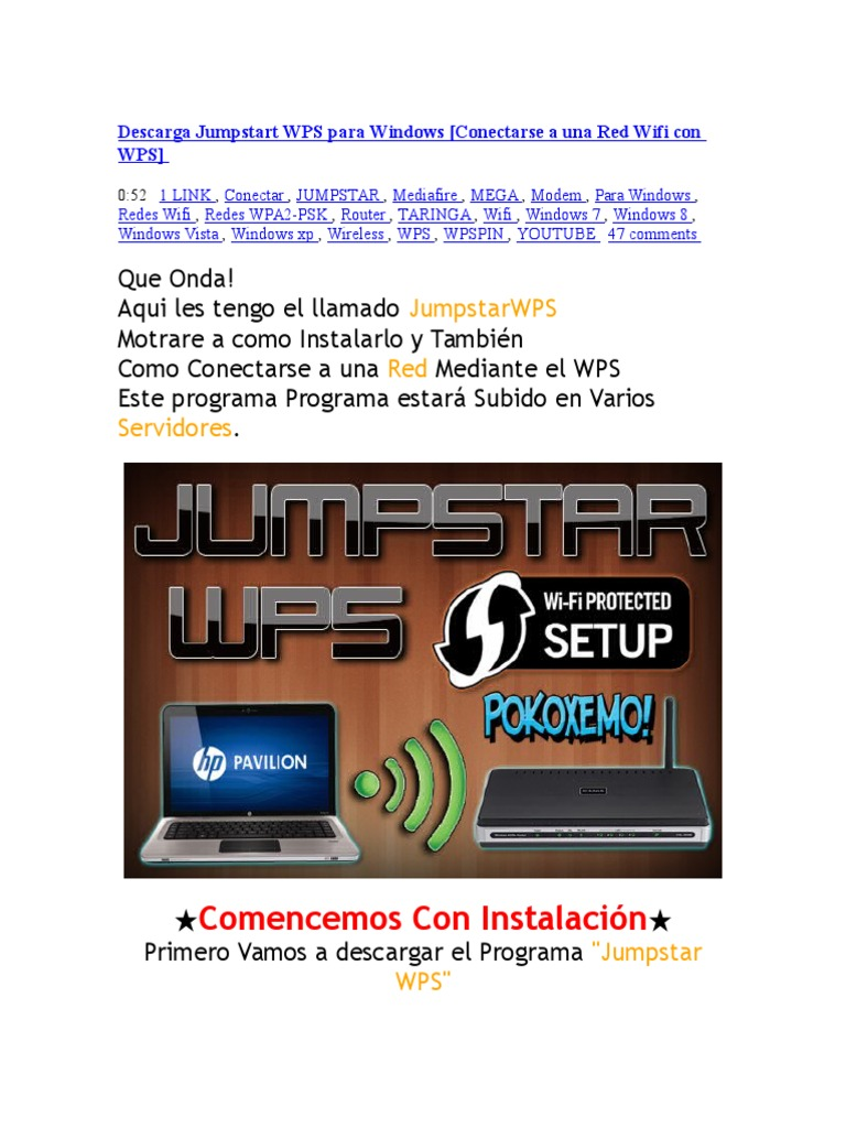 Jumpstart Wps Descargar Softonic
