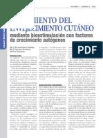 Trat. Envejec Cutaneo Mediante Bioestimulac Fect Crecim Autol