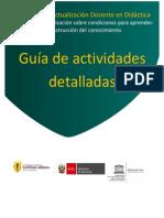 Guia Actividades 2015