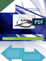 Tema 1. Historia de La Medicina Legal y Conceptos Basicos