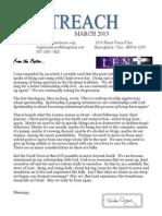 March 2015 Outreach