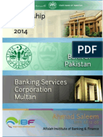 Internship report on State bank BSC Multan