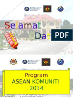 Taklimat Program Asean Komuniti (Bahan) 6 Nov 2014