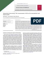 Immunitary bioeconomy