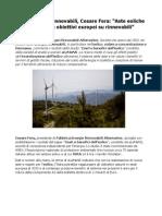 Fera energie rinnovabili