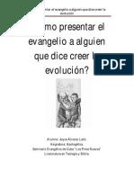 Como Presentarle El Evangelio a Un Evolucionista