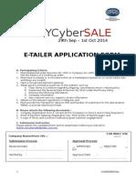 E-tailer Application Form - Final v2