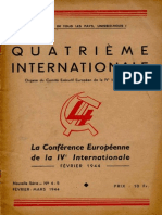 Quatrième Internationale I, Nº 4-5, 1944