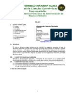 4 Silabo 2010 Administracion Financiera i Cordano