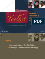 Communication Strategic Communication