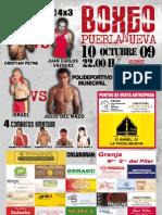 Boxing Pueblanueva 10Octubre