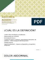 Abdomen Agudo Dra Giuliana 2014