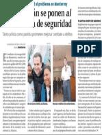 07-03-15 El combate a la inseguridad, prioridad en Monterrey